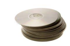 cd-skivor Arkivfoto