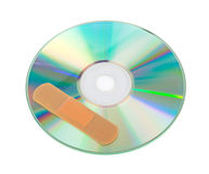 CD with software patch Royalty Free Stock Photo