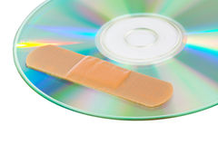 CD with software patch Stock Images