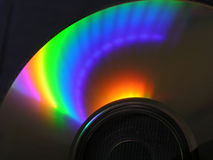 cd spectrum Arkivbild