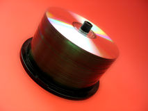 CD spindle 2 Stock Image