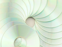 CD spiraal Stock Fotografie