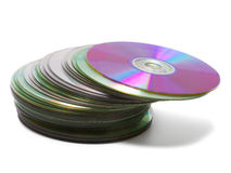 CD stack Royalty Free Stock Photos