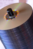 Cd stack Stock Photo