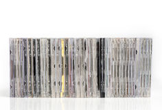 Cd stack Royalty Free Stock Photo