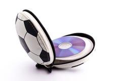 CD-suporte Imagem de Stock Royalty Free