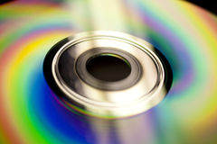 Cd surface Royalty Free Stock Images