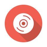 cd symbol royaltyfri illustrationer
