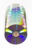 CD U. DVD Lizenzfreie Stockbilder