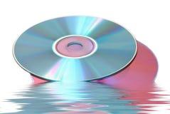 CD und DVD Lizenzfreies Stockfoto