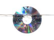 CD undervattens- Arkivfoto