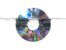 CD underwater Stock Photo