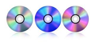 CD van de blauw-straal vector illustratie