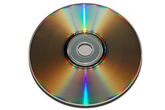 CD van de Kleur van de regenboog Stock Afbeeldingen
