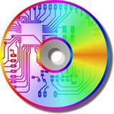 CD van de schijf vector illustratie