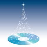CD van Kerstmis Royalty-vrije Stock Afbeeldingen