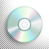 CD, vecteur de disque de DVD illustration libre de droits