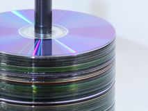 CD Verlaten Rek royalty-vrije stock afbeeldingen