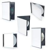CD-Verpackungs-Schablone Lizenzfreies Stockbild