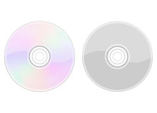 CD on White Royalty Free Stock Photos