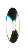 CD on white background - close-up Stock Photography