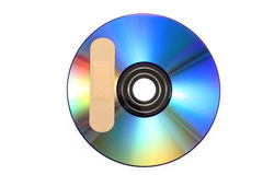 Free CD With Software Patch Stock Photo - 16388830