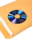 CD y documento imagen de archivo libre de regalías