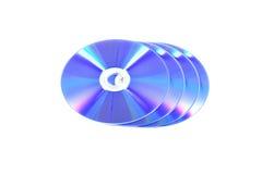 Cd y dvd Fotos de archivo libres de regalías
