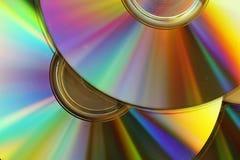 Cd y dvd Foto de archivo libre de regalías