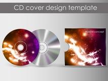 CDabdeckungsdarstellungs-Designschablone Lizenzfreies Stockfoto