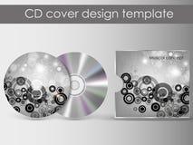 CDabdeckungsdarstellungs-Designschablone Stockbilder