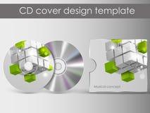 CDabdeckungsdarstellungs-Designschablone Lizenzfreie Stockfotografie