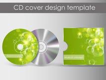 CDabdeckungsdarstellungs-Designschablone Lizenzfreie Stockbilder