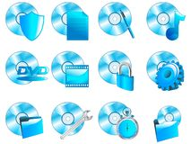 CDblueSigns Stockbild