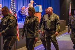 2016 CDCR Medal of Valor Ceremony 17. Medal recipients California Department of Corrections and Rehabilitation's (CDCR) 31st Annual Medal of Valor Ceremony Stock Photo