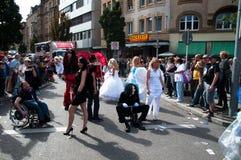 CDD - Jour de rue de Christopher Stuttgart 2011 Photos libres de droits