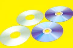 Cdes, DVDs, Foto de archivo libre de regalías