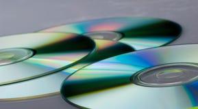 Cdes DVDs Fotos de archivo libres de regalías