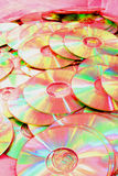 Cdes rosados Imagen de archivo