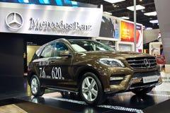 CDI 4 MATIC för Benz ML350 Fotografering för Bildbyråer