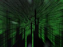 Código binario. Foto de archivo libre de regalías