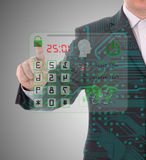 Código da segurança e da proteção Imagem de Stock Royalty Free