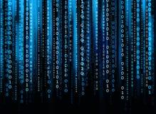 Código de ordenador Foto de archivo libre de regalías