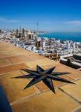 Cádiz Cathedral seen from Torre Tavira Stock Photography