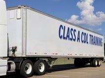 CDL-Klasse ein Training Stockbild