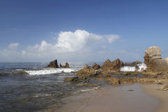 cdm na plaży zdjęcia stock