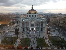 Cdmx bellas artes. Cdmx bellas artrs mexico Royalty Free Stock Photos