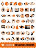 cdr σύνολο λογότυπων Στοκ φωτογραφία με δικαίωμα ελεύθερης χρήσης