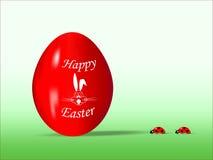 cdr Easter jajka formata czerwień Fotografia Royalty Free