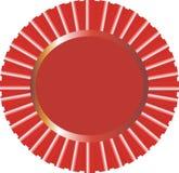 Cdr rojos vector de la cinta Fotos de archivo